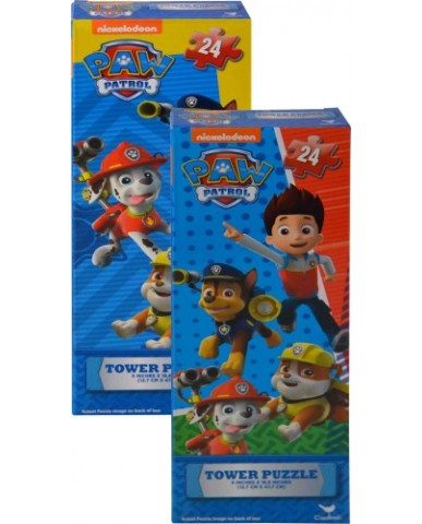 Paw Patrol 24-pc Tower Puzzle