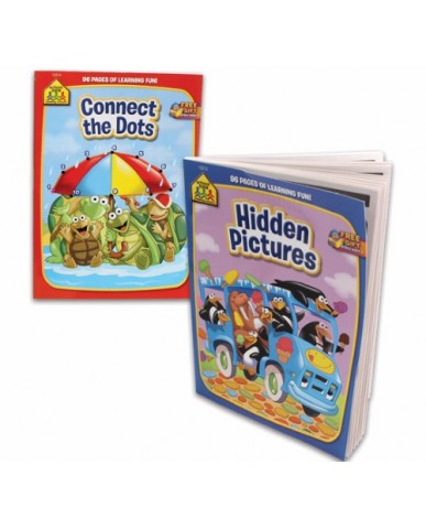Hidden Pics/Connect Dots Coloring Book