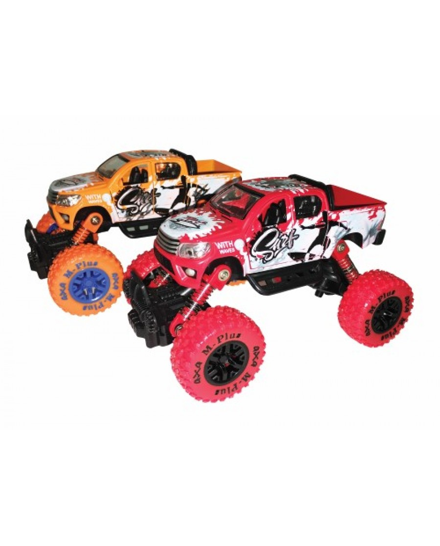 "6"" Die Cast Monster Wheel ""Surf"" Pickup Trucks"
