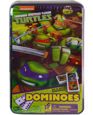 TMNT Dominoes Tin