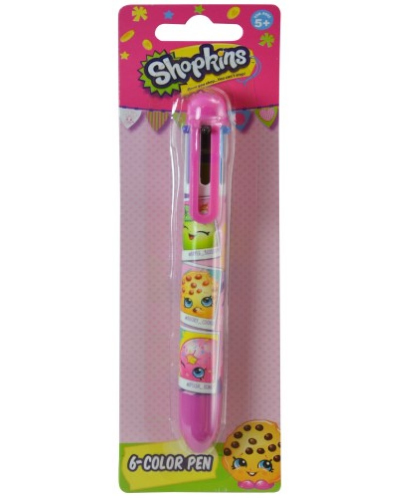 SHOPKINS 8 COLOUR PEN
