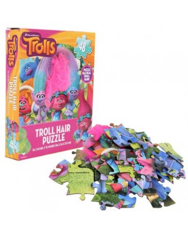 Trolls 48-pc Puzzle with Hair