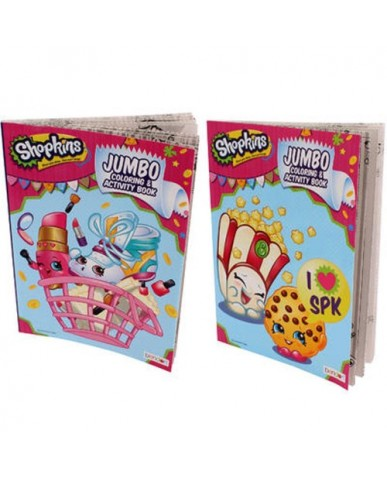 96-pg Shopkins Coloring Book