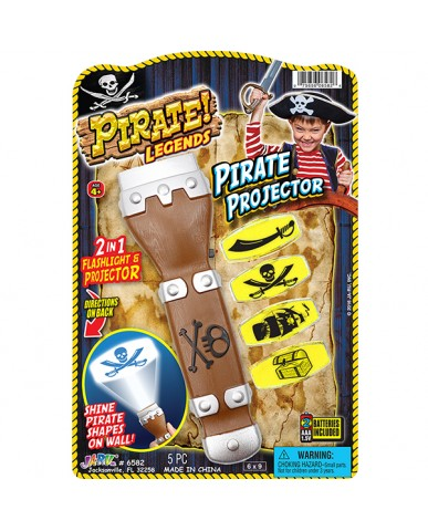 Pirate Projector Flashlight