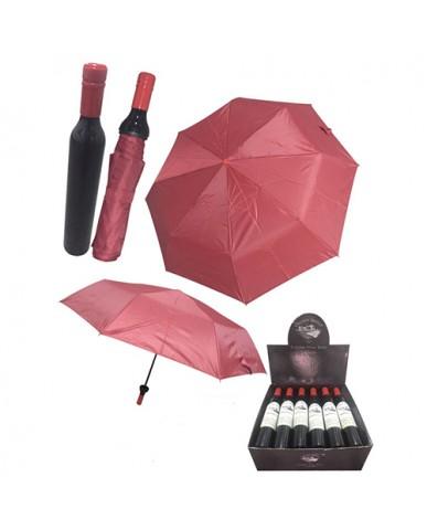 Wine Bottle Shaped Umbrella