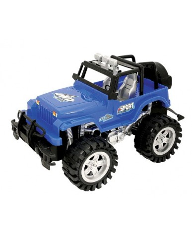 """10"""" Friction Powered Monster Sport 4WD"""