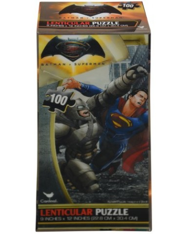 Batman vs. Superman 100 pc Lenticular 3D Puzzle