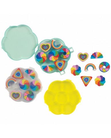 Seven Rainbow Eraser Pack