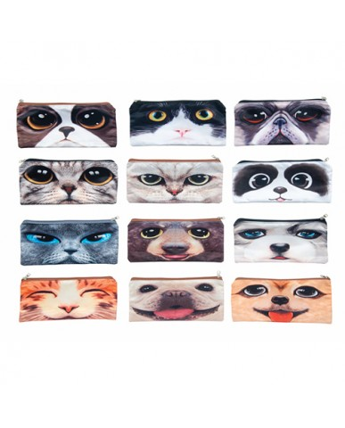 Wild Eyes Pencil/Cosmetic Pouch
