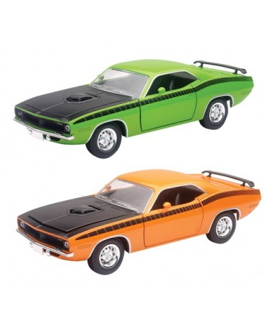 "8"" Die Cast 1970 Plymouth 'Cuda"