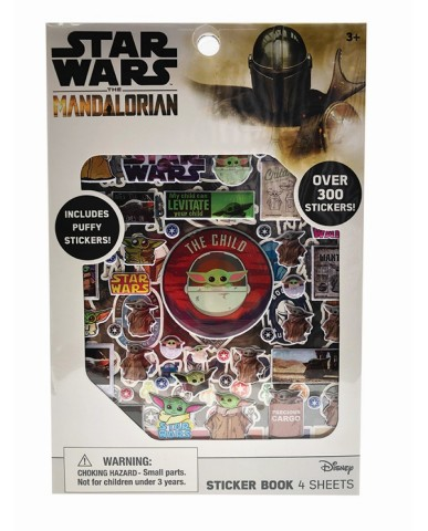 "Mandalorian ""The Child"" Sticker Book w/ Stickers"