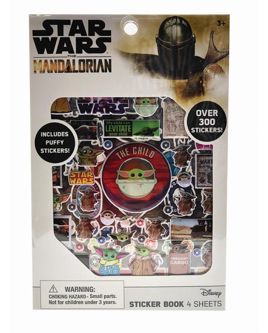 "Mandalorian ""The Child"" Sticker Book w/ Stickers"