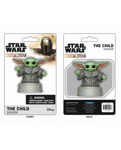 "Mandalorian ""The Child"" 3D Eraser"