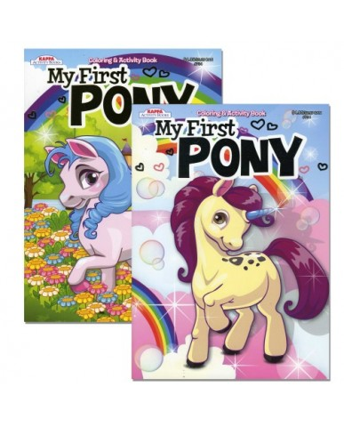 My First Pony Coloring Book