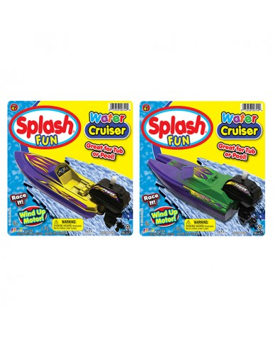 "7"" Splash Fun Water Cruiser Wind Up"