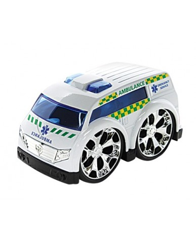 "4"" Dyna Motor Die Cast Ambulance"