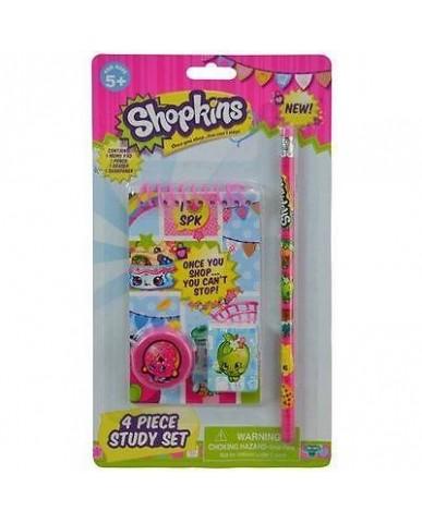Shopkins 4-pc Study Kit