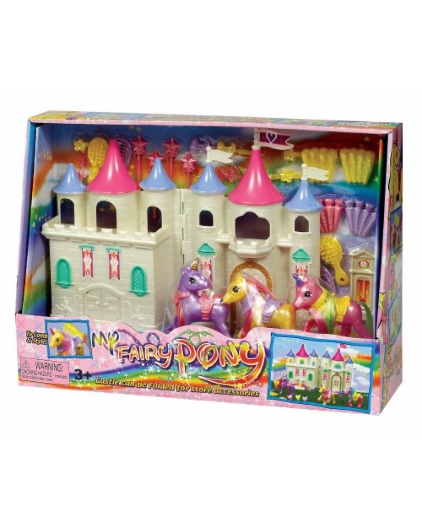 Pony Folding Dream Castle Play Set