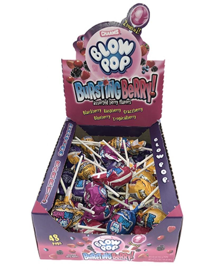 Bursting Berry Blow Pops