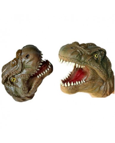 Rubber Dino Hand Puppet