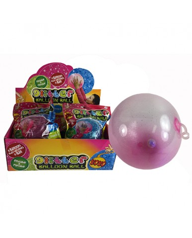 Light Up Glitter Balloon Ball