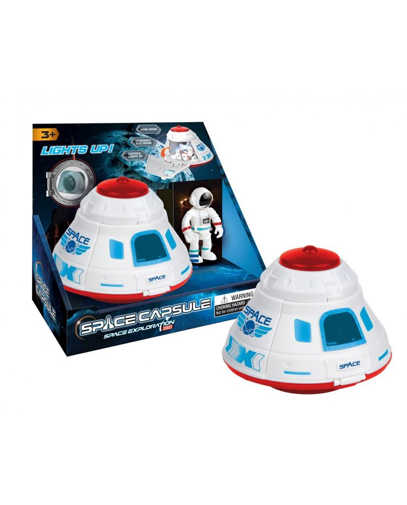 "5"" Light & Sound Space Capsule"