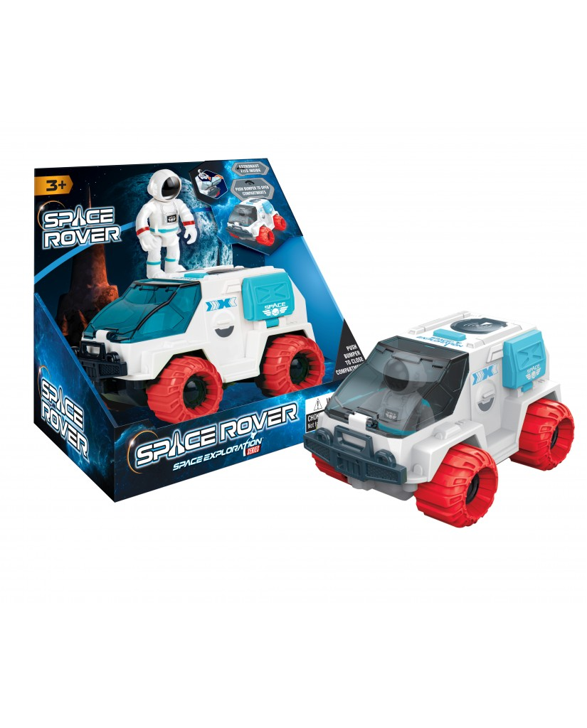 """6.5"""" Friction Space Rover w/ Astronaut"""
