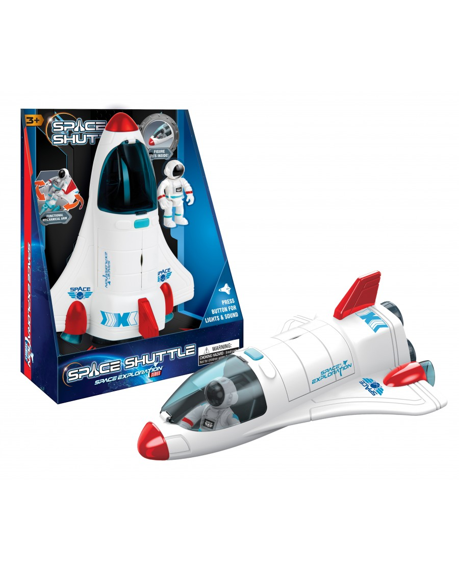 "10"" Light & Sound Space Shuttle"