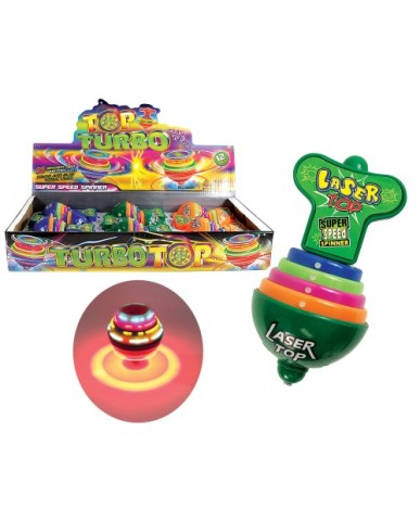 Laser Light & Musical Spinning Top