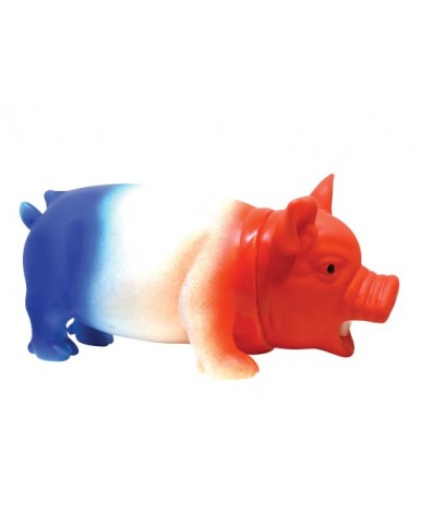 "7.5"" Happy Red, White & Blue Oinking Pig"