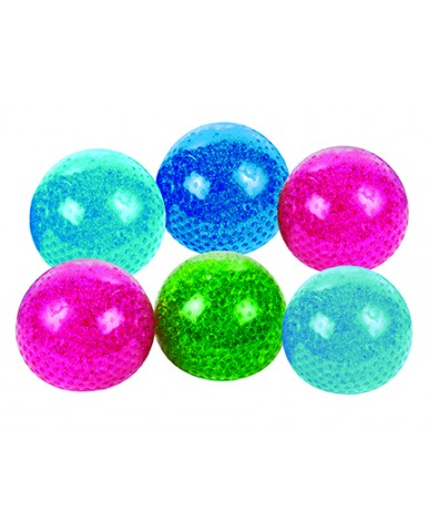"4"" Giant Squishy Bead Squeeze Ball"