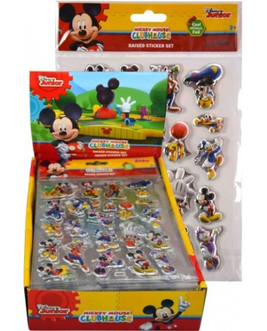 Mickey Mouse Foil Puffy Stickers