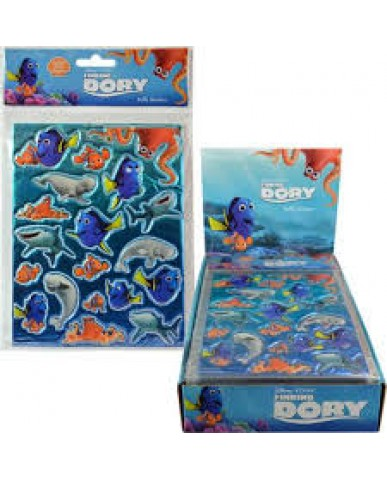 Finding Dory Foil Puffy Stickers
