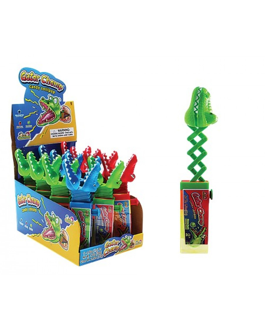 Gator Chomp Lollipop