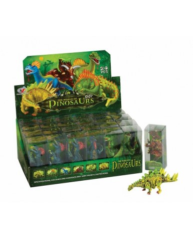 """4.5"""" Plastic Dinosaur Figurines"""