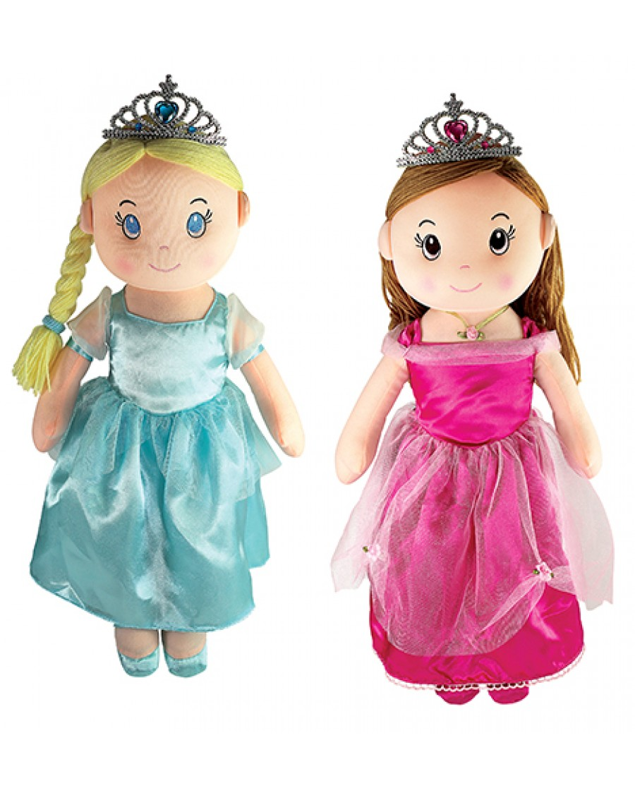 "20"" Princess Rag Dolls"
