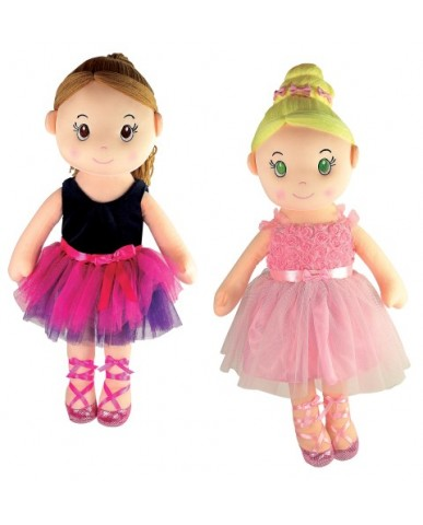 "20"" Ballerina Rag Dolls"