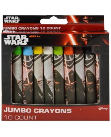 Star Wars Ep. 7 10-pk Jumbo Crayons