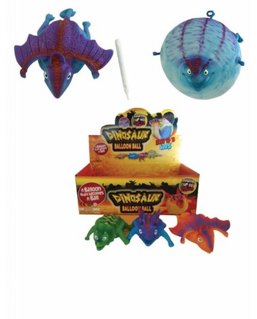 """3"""" Dino Balloon Ball"""