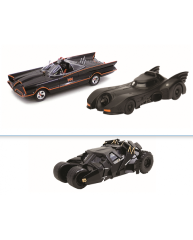 "5"" - 6"" Assorted Classic Batmobile"