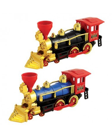"7.5"" Die Cast Classic Steam Locomotive"