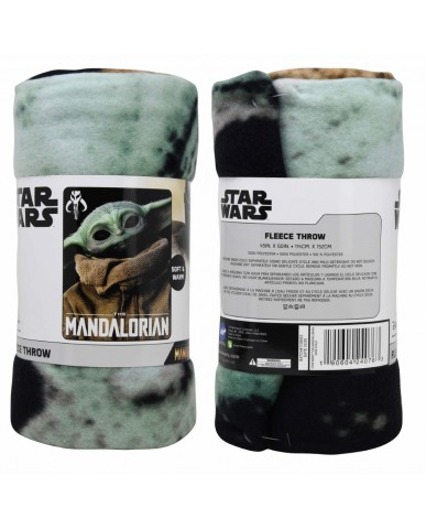 "Mandalorian ""The Child"" Fleece Blanket"