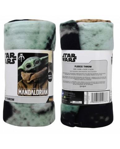 "Mandalorian ""The Child"" Fleece Blanket"