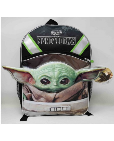 "Mandalorian ""The Child""  16"" Backpack"
