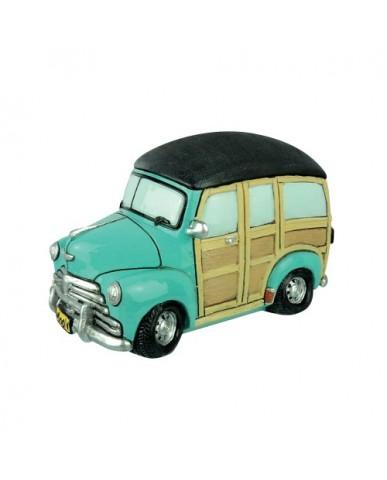 """6.5"""" Classic Woody Car Ceramic Bank"""