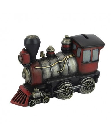 "6.5"" Classic Locomotive Ceramic Bank"