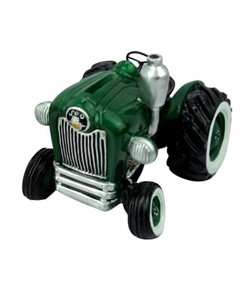 "6"" Farm Tractor Ceramic Bank"