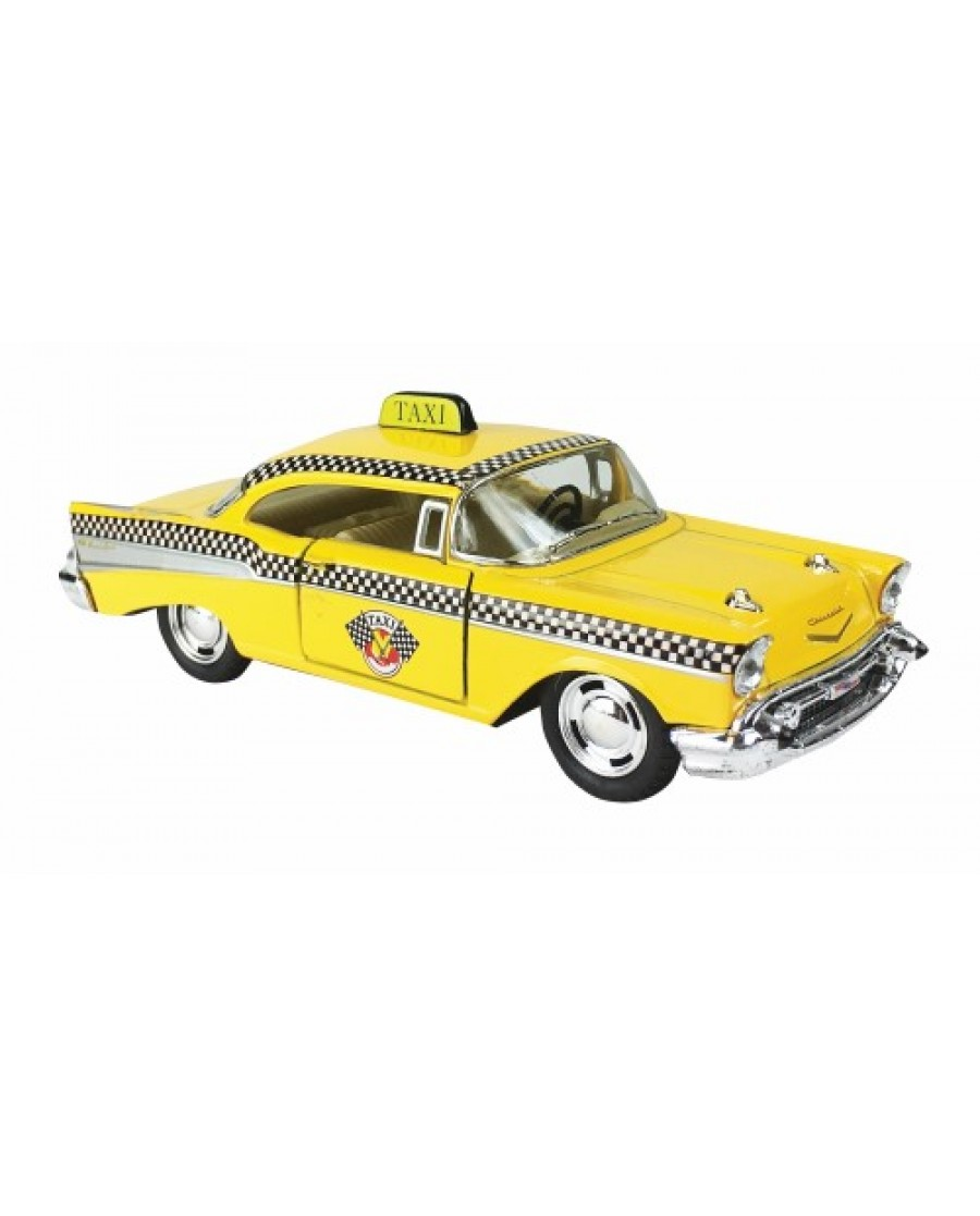 """5"""" 1957 Chevy Bel Air Classic Taxi"""