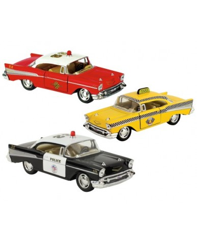 "5"" Die Cast 1957 Chevy Bel Air Classic Assortment"
