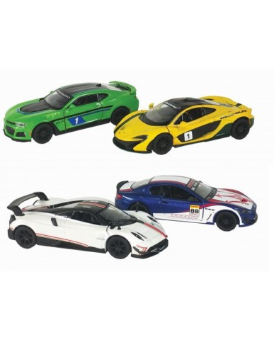 "4.5"" Exotic Racing Cars"